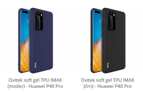 Soft gel ovitek za Huawei P40 Pro